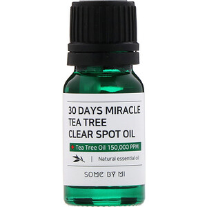 Some By Mi, 30 Days Miracle Tea Tree Clear Spot Oil, 10 ml отзывы покупателей