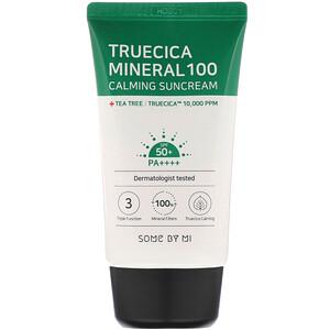 Some By Mi, Truecica Mineral 100 Calming Suncream, SPF 50+ PA++++, 1.69 fl oz (50 ml) отзывы
