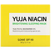 Some By Mi, Yuja Niacin, Masker Tidur yang Mencerahkan, 60 g (2,11 ons)