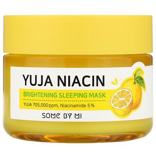 Some By Mi, Yuja Niacin، قناع التفتيح أثناء النوم، 2.11 أونصة (60 جم)