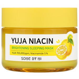Some By Mi, Yuja Niacin, Brightening Sleeping Mask, 2.11 oz (60 g) отзывы
