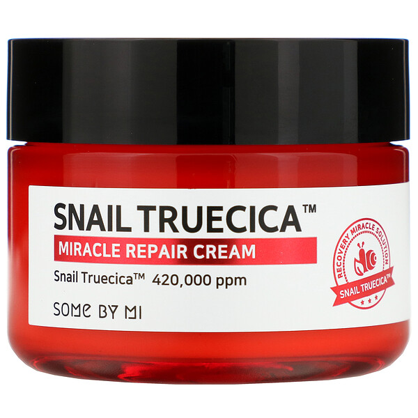 Some By Mi, Snail Truecica, Miracle Repair Cream, 2.11 oz (60 g)