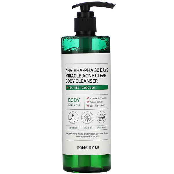 Miracle Acne Clear, Body Cleanser, 14.10 oz (400 g)