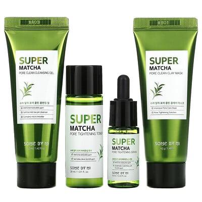 Some By Mi Super Matcha Pore Care Starter Kit, Edition, 4 Piece Set