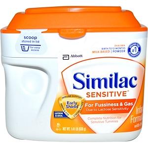 Симилак, Sensitive, Infant Formula with Iron, Birth to 12 Months, 1.41 lb (638 g) отзывы