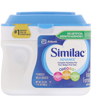 Similac, Advance, Infant Formula with Iron, 0-12 Months, 1.45 lb (658 g)