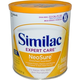 Similac, Expert Care, NeoSure, Infant Formula with Iron, 13.1 oz (371 g)