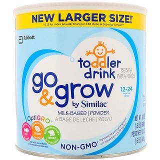 Similac, Молочная смесь Go & Grow, 12-24 месяцев, 24 унц. (680 г)