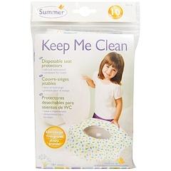 Summer Infant, Keep Me Clean، واقيات للمقاعد قابلة للتخلص، 10 قطع