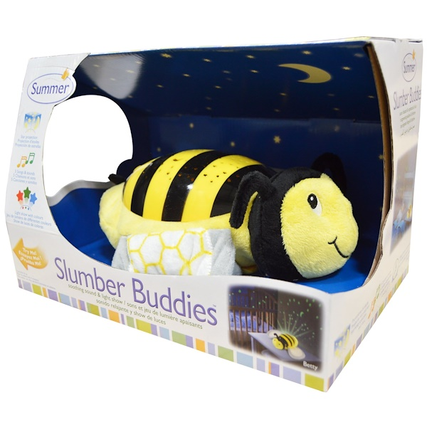 Summer Infant, Slumber Buddies, Bumble Bee Betty, 1 Slumber Buddie (Discontinued Item)