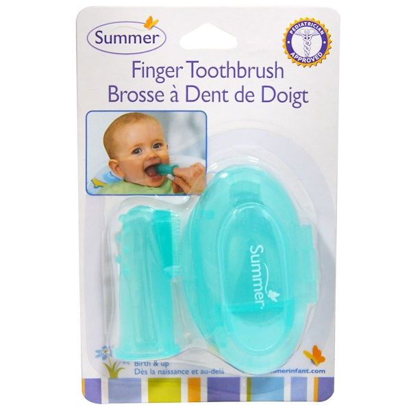 Summer Infant, Escova Dental de Dedo com Estojo