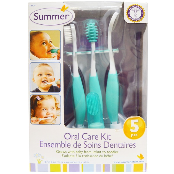 Summer Infant, Oral Care Kit, 5 Piece Kit (Discontinued Item)