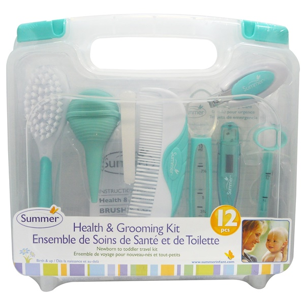 Summer Infant, Health & Grooming Kit, 12 Piece Kit (Discontinued Item)