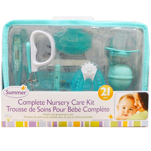 Summer Infant, Complete Nursery Care Kit, 21 Pieces