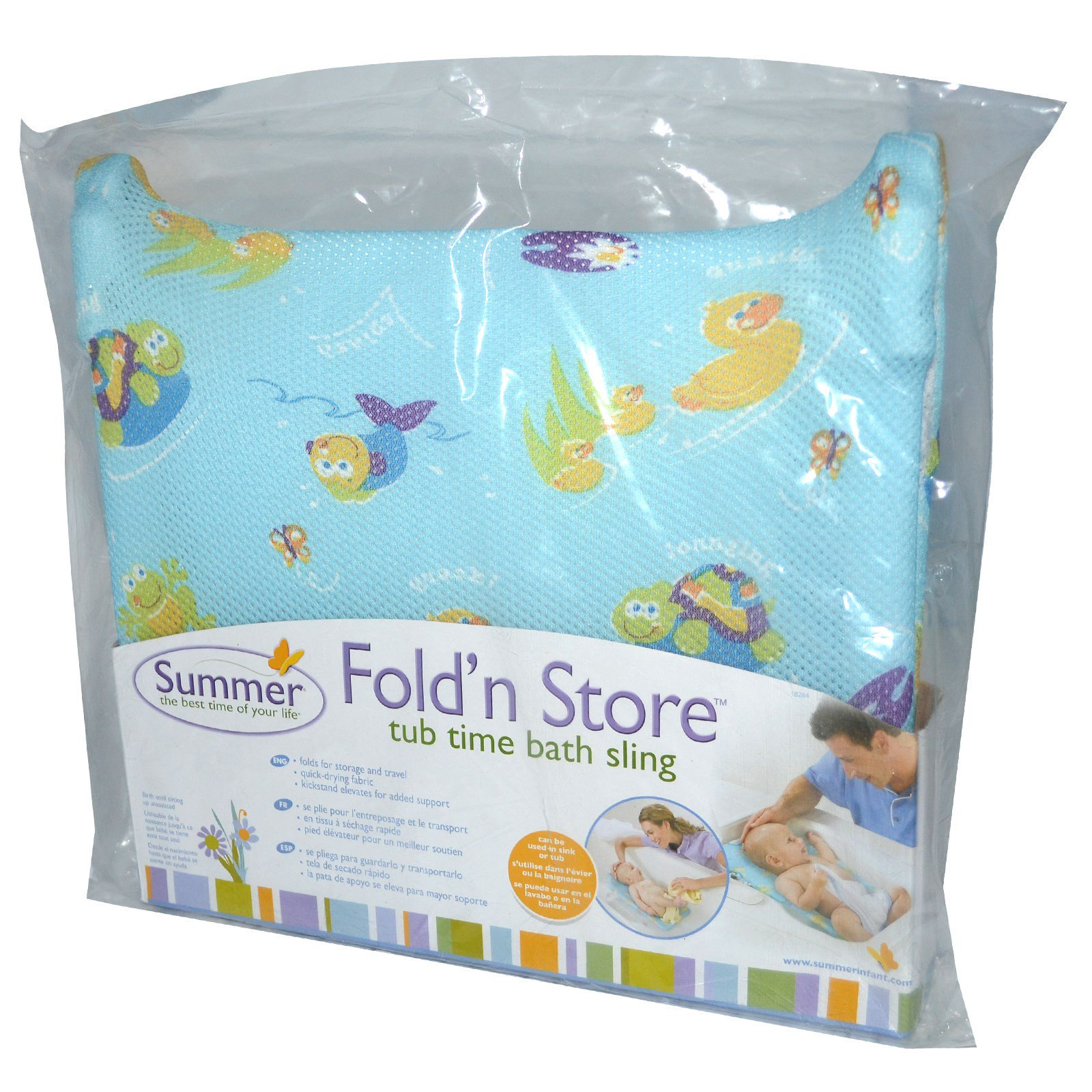 Summer Infant, Fold\'n Store, Tub Time Bath Sling - iHerb.com