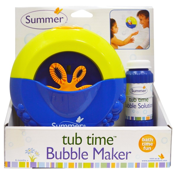 Summer Infant, Tub Time, Bubble Maker (Discontinued Item)
