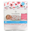 Summer Infant, SwaddleMe, Original Swaddle, Small Medium, 0-3 Months, Floral, 5 Pack