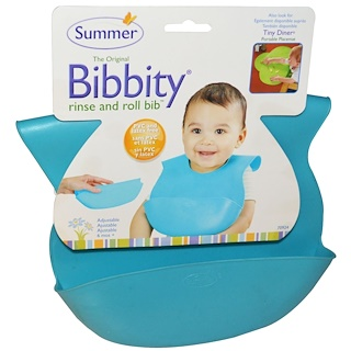 Summer Infant, Bibbity, Rinse and Roll Bib, 1 Bib