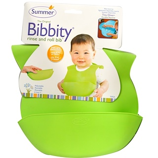 Summer Infant, The Original Bibbity, Rinse and Roll Bib, 1 Bib