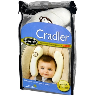 Summer Infant, Cradler, Adjustable Head Support