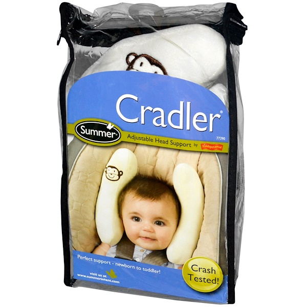 Summer Infant, Cradler, Adjustable Head Support (Discontinued Item)