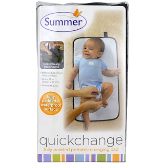 Summer Infant, Quickchange, Fully Padded Portable Changing Pad, 1 Piece