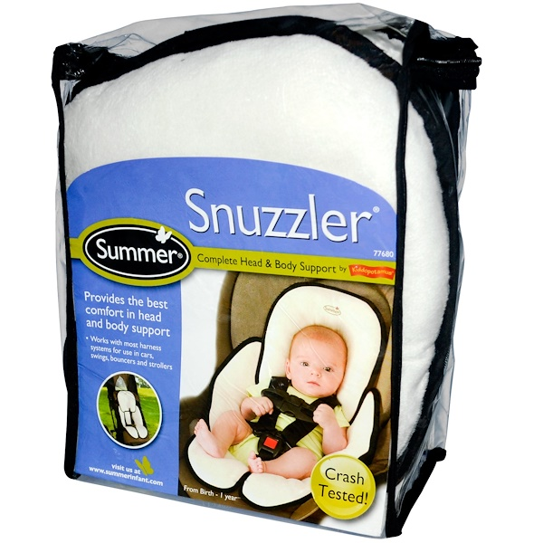 Summer Infant, Snuzzler, Complete Head & Body Support from Birth - 1 Year (Discontinued Item)