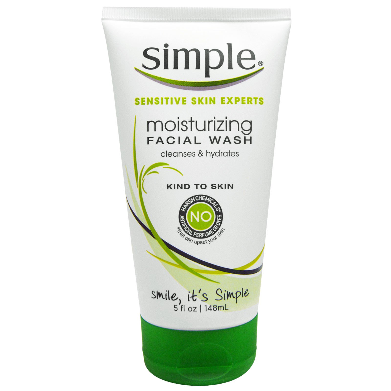 simple face wash simple skincare moisturizing wash 5 fl oz 148 ml 29721
