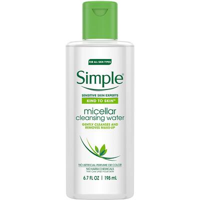 Купить Simple Skincare Мицеллярная очищающая вода, 198мл (6, 7жидк.унции)