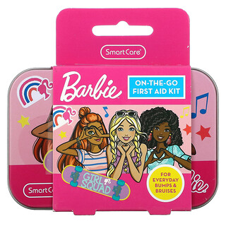 Smart Care, On-The-Go First Aid Kit, Barbie, 13 Piece Kit