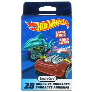 Smart Care, Adhesive Bandages, Hot Wheels, 20 Bandages