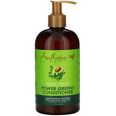 SheaMoisture,  Power Greens 護髮素,辣木與鱷梨味,13 液量盎司(384 毫升)