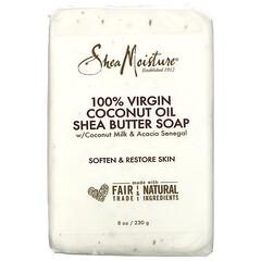 SheaMoisture, 純初榨椰子油乳木果油肥皂,8 盎司(230 克)