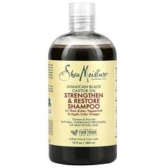 SheaMoisture, Jamaican Black Castor Oil, Strengthen & Restore Shampoo,  13 fl oz (384 ml)
