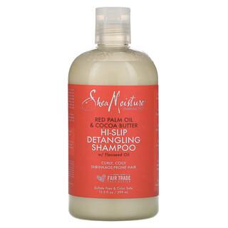 SheaMoisture, Shampooing démêlant Hi-Slip, Huile de palme rouge et beurre de cacao, 399ml