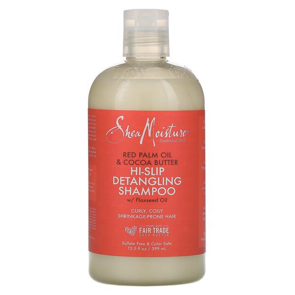 Hi-Slip Detangling Shampoo, Red Palm Oil & Cocoa Butter, 13.5 fl oz (399 ml)