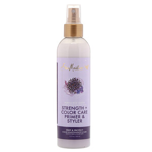 Ши Мойстчэ, Purple Rice Water, Strength + Color Care Primer & Styler,  7.5 fl oz (222 ml) отзывы покупателей