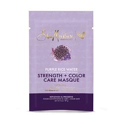 SheaMoisture, 強韌 + 護色髮膜,紫米水,2 盎司(57 克)
