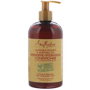 Ши Мойстчэ, Intensive Hydration Conditioner, Manuka Honey & Mafura Oil, 13 fl oz (384 ml) отзывы покупателей