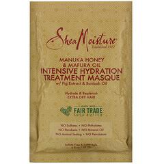 SheaMoisture, 麥盧卡蜂蜜和馬福拉油強化補水護理髮膜,2 液量盎司(59 毫升)