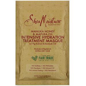 SheaMoisture, Manuka Honey & Mafura Oil Intensive Hydration Treatment Masque, 2 fl oz (59 ml)
