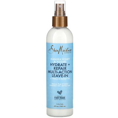 Купить SheaMoisture Hydrate + Repair Multi-Action Leave-In, Manuka Honey & Yogurt, 8 fl oz (237 ml)