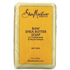 SheaMoisture, 未加工乳木果油皂,8 盎司(230 克)