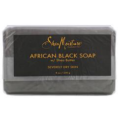 SheaMoisture, 乳木果油非洲黑皂,8 盎司(230 克)