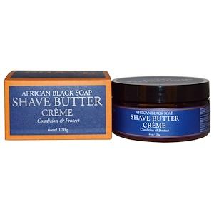 Ши Мойстчэ, African Black Soap Shave Butter Creme, 6 oz (170 g) отзывы