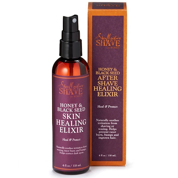 SheaMoisture, Shave for Women, After Shave Healing Elixir, Honey & Black Seed, 4 fl oz (118 ml) (Discontinued Item)