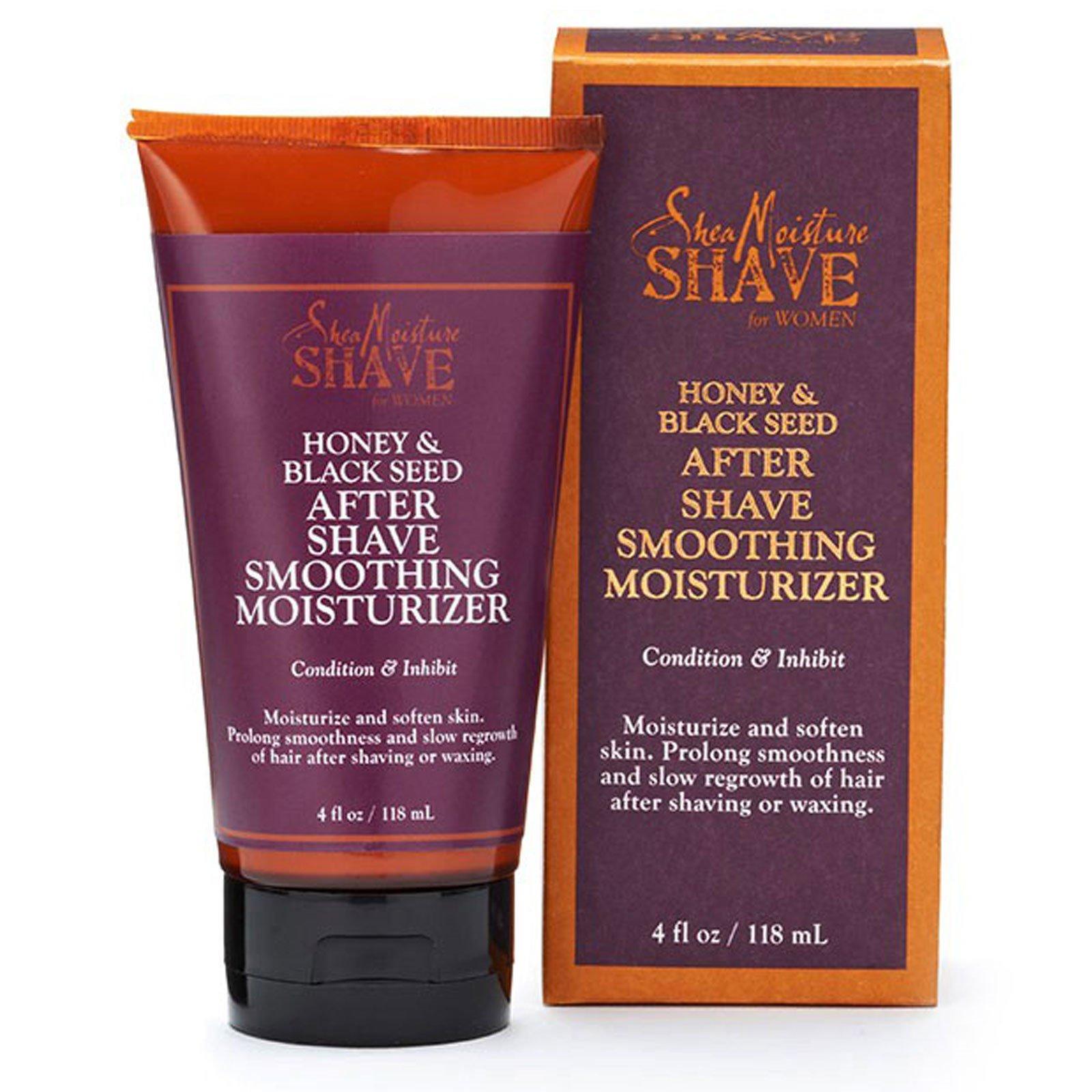Shea Moisture, Бритье для женщин, мягкий увлажняющий крем после бритья, мед и калинджи, 4 жидких унции (118 мл)