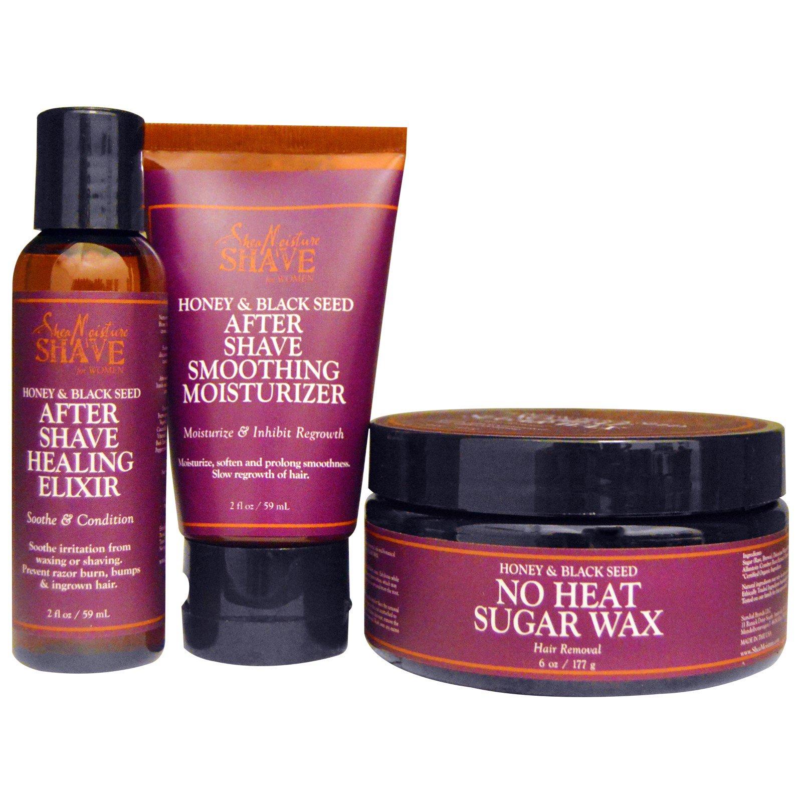 SheaMoisture, Shave, No-Heat Sugar Wax Spa Kit, For Women, Honey & Black  Seed, 1 Kit (Discontinued Item)