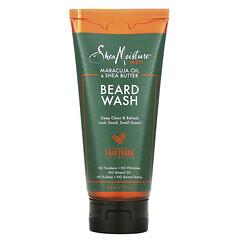 SheaMoisture, 男性專用鬍鬚清洗劑,西番蓮油/乳木果油,6 液量盎司(177 毫升)