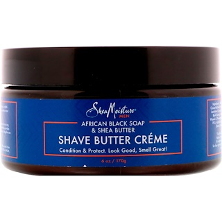 SheaMoisture, African Black Soap & Shea Butter, Shave Butter Creme, 6 oz (170 g)